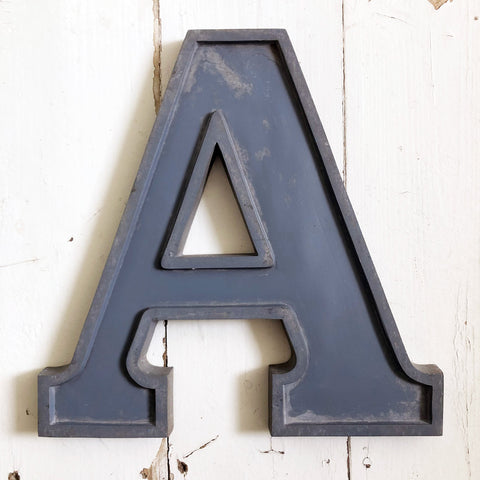 A - Large Letter Metal