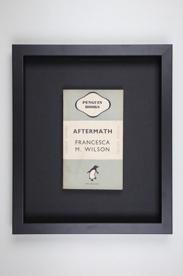 Aftermath - Framed Vintage Penguin