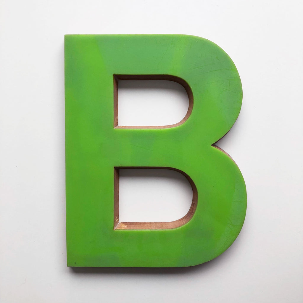 B - Large Letter Ply and Perspex