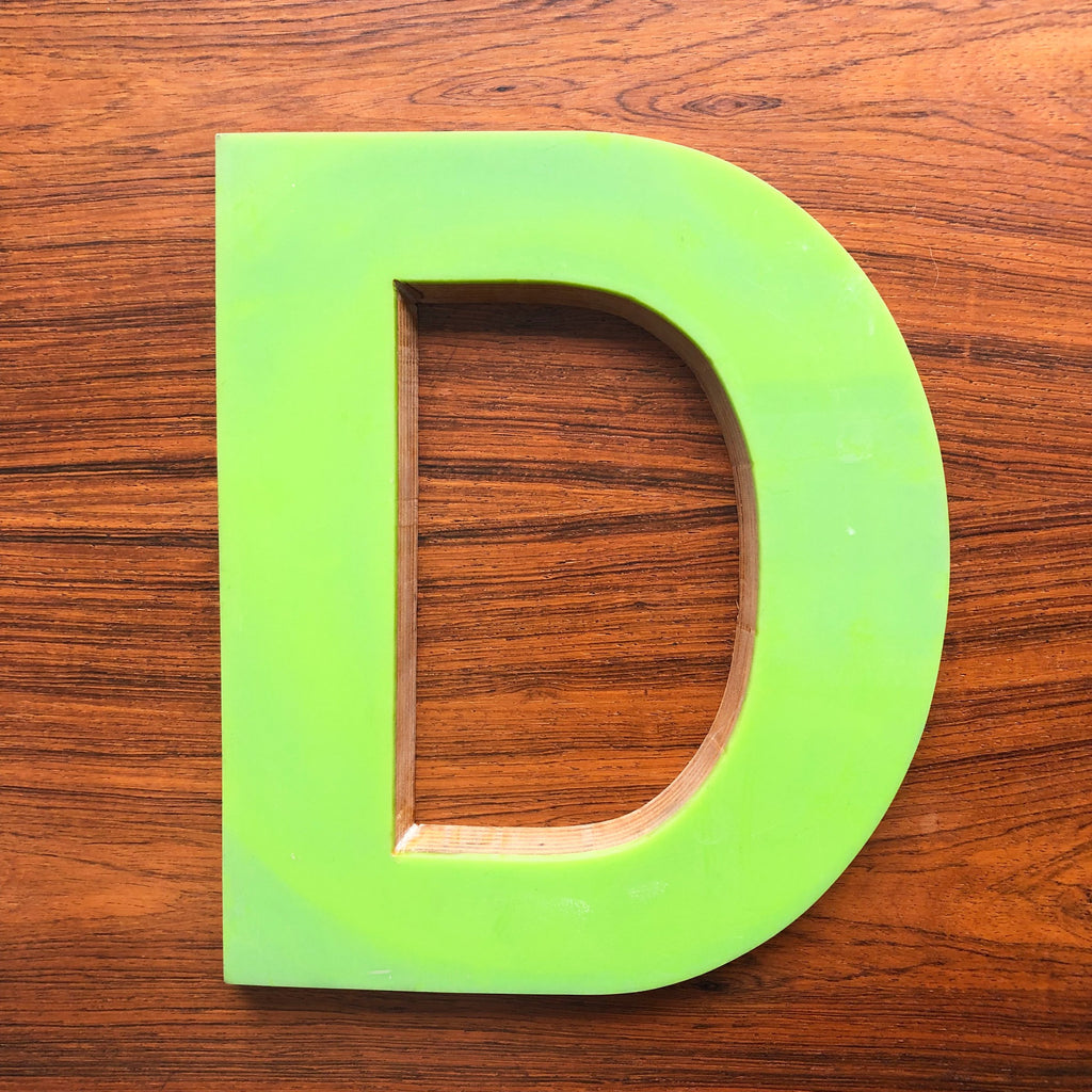 D - Large Letter Ply and Perspex