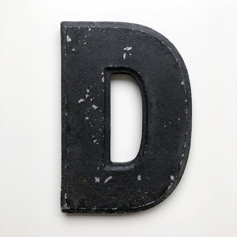 D - 8 Inch American Wagner Cinema Marquee Metal Letter