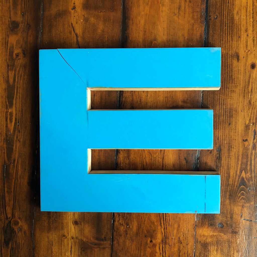 E - Large Letter Ply and Perspex