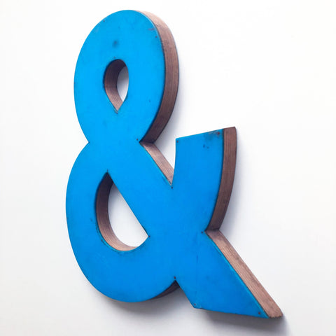 & - Large Letter Ply and Perspex