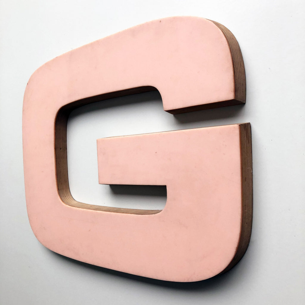 G - Large Letter Ply and Perspex