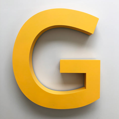 G - Extra Large Shop Sign Letter