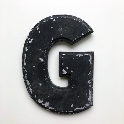 G - 8 Inch American Wagner Cinema Marquee Metal Letter