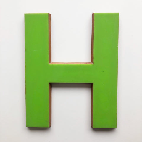 H - Large Letter Ply and Perspex
