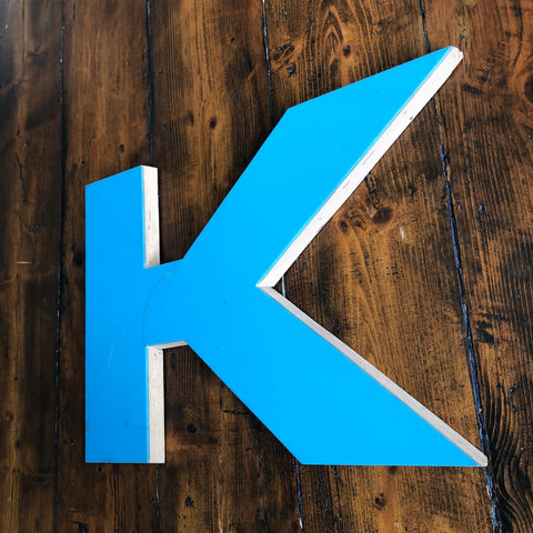 K - Large Letter Ply and Perspex