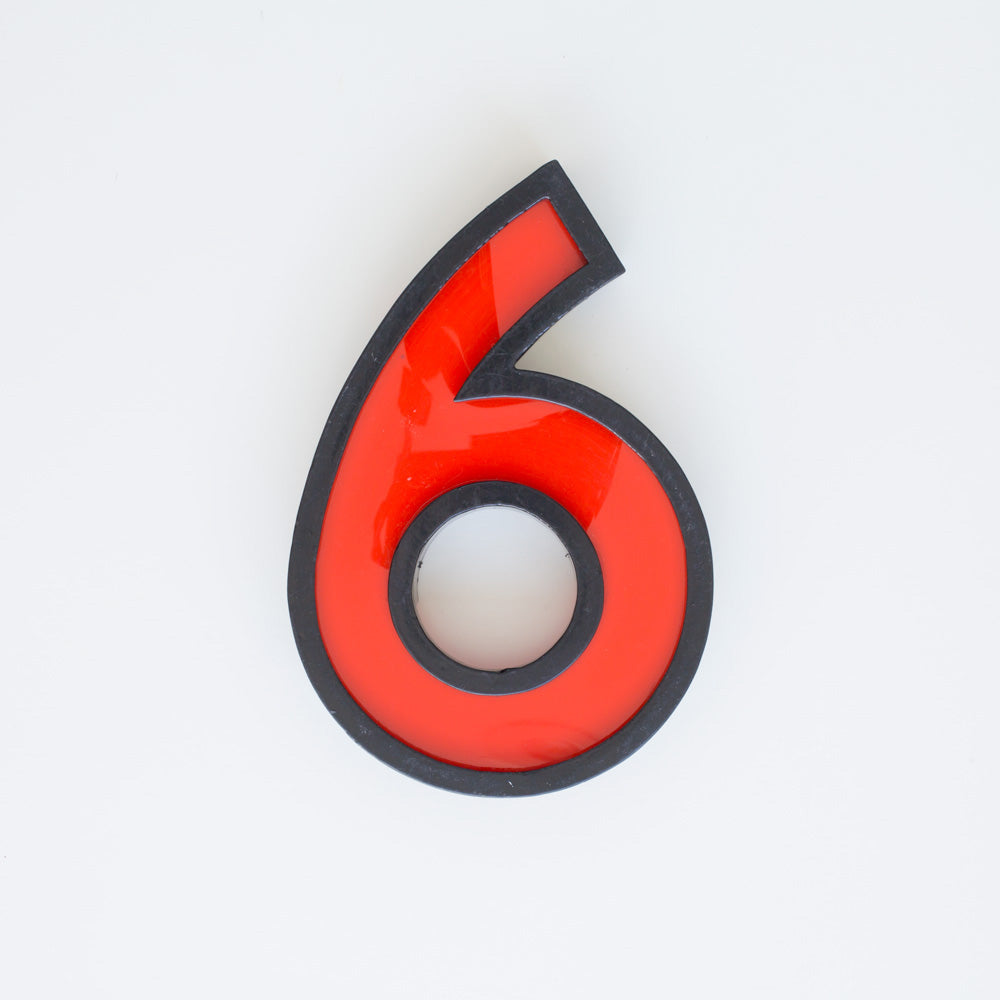 6 - Large Cinema Number