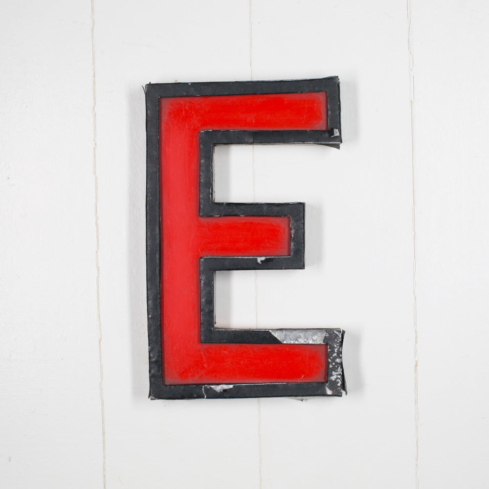 E - Large Cinema Letter