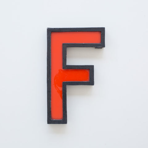 F - Large Cinema Letter