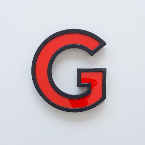 G - Large Cinema Letter