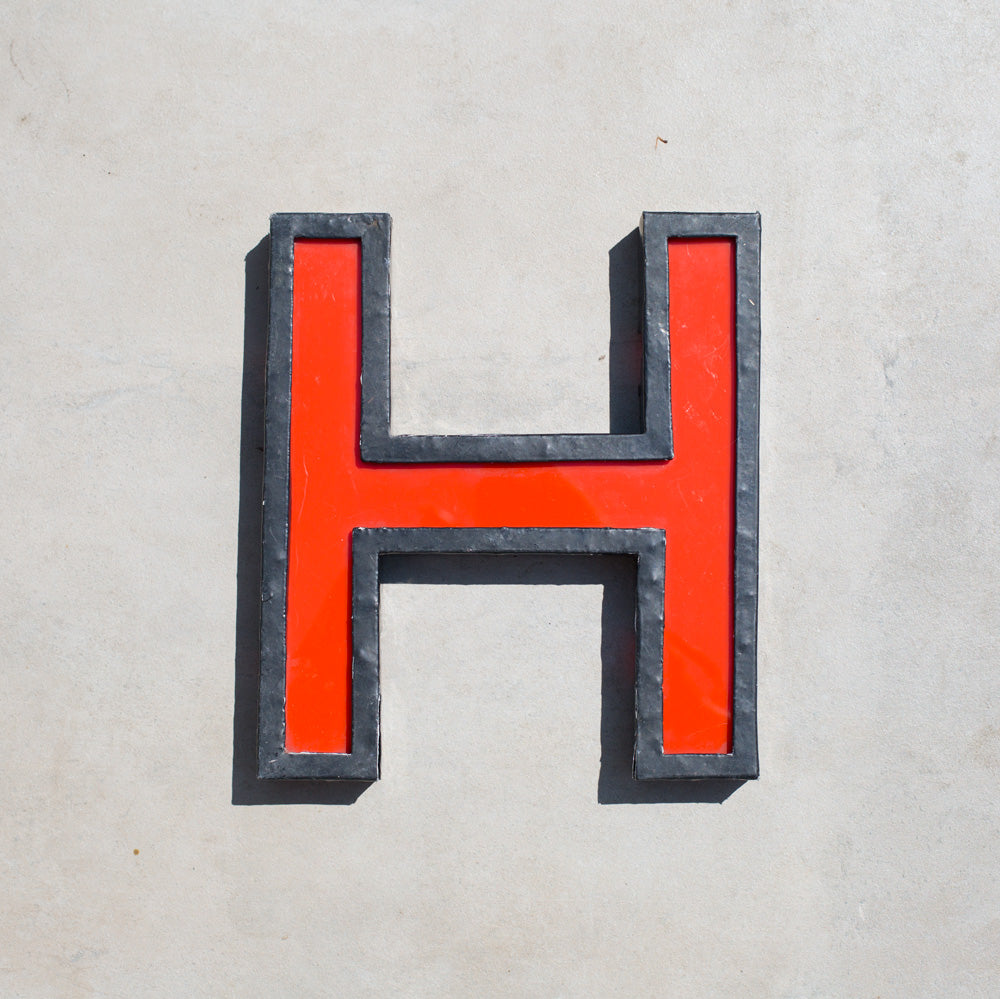 H - Large Cinema Letter