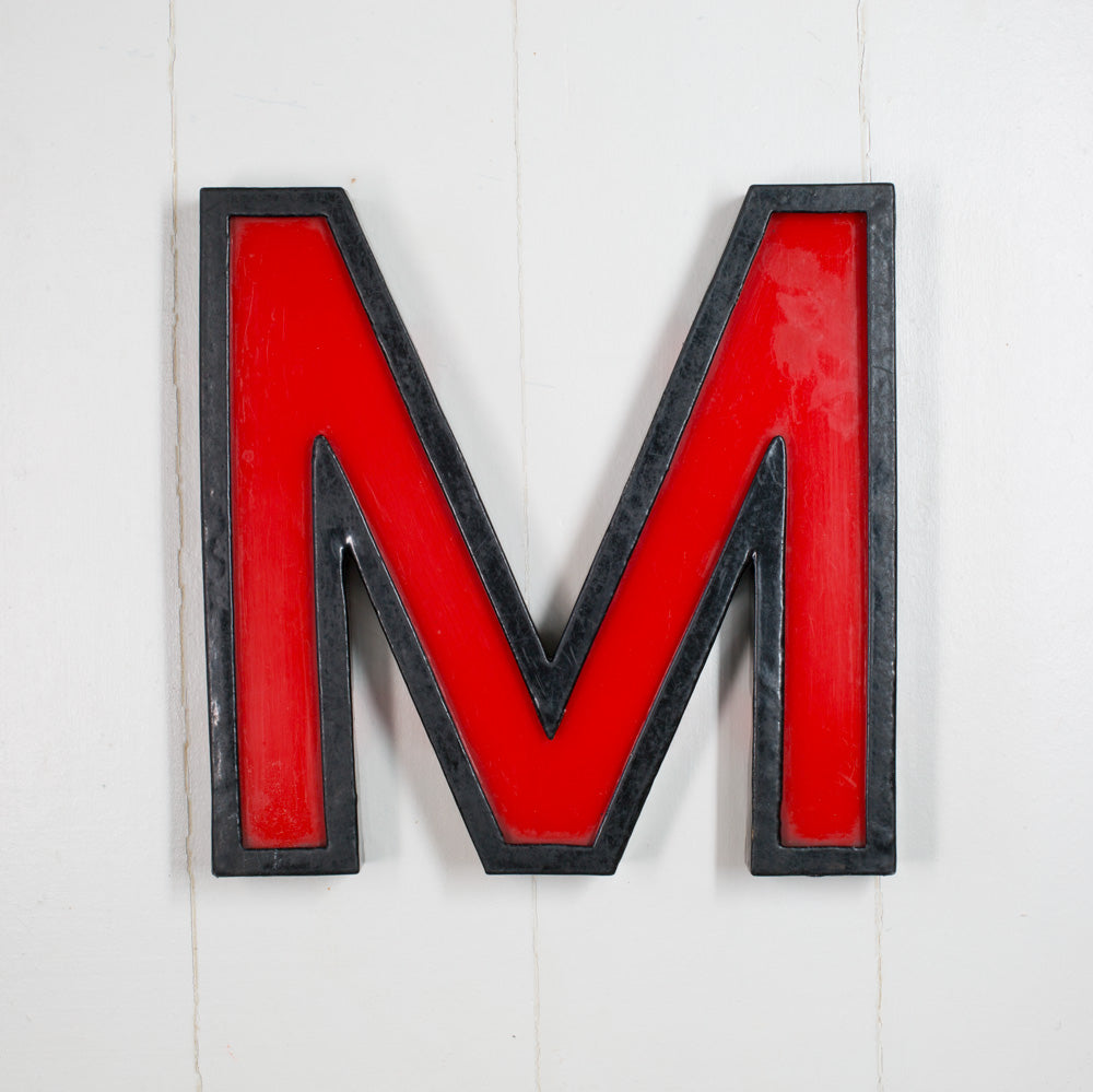 M - Large Cinema Letter