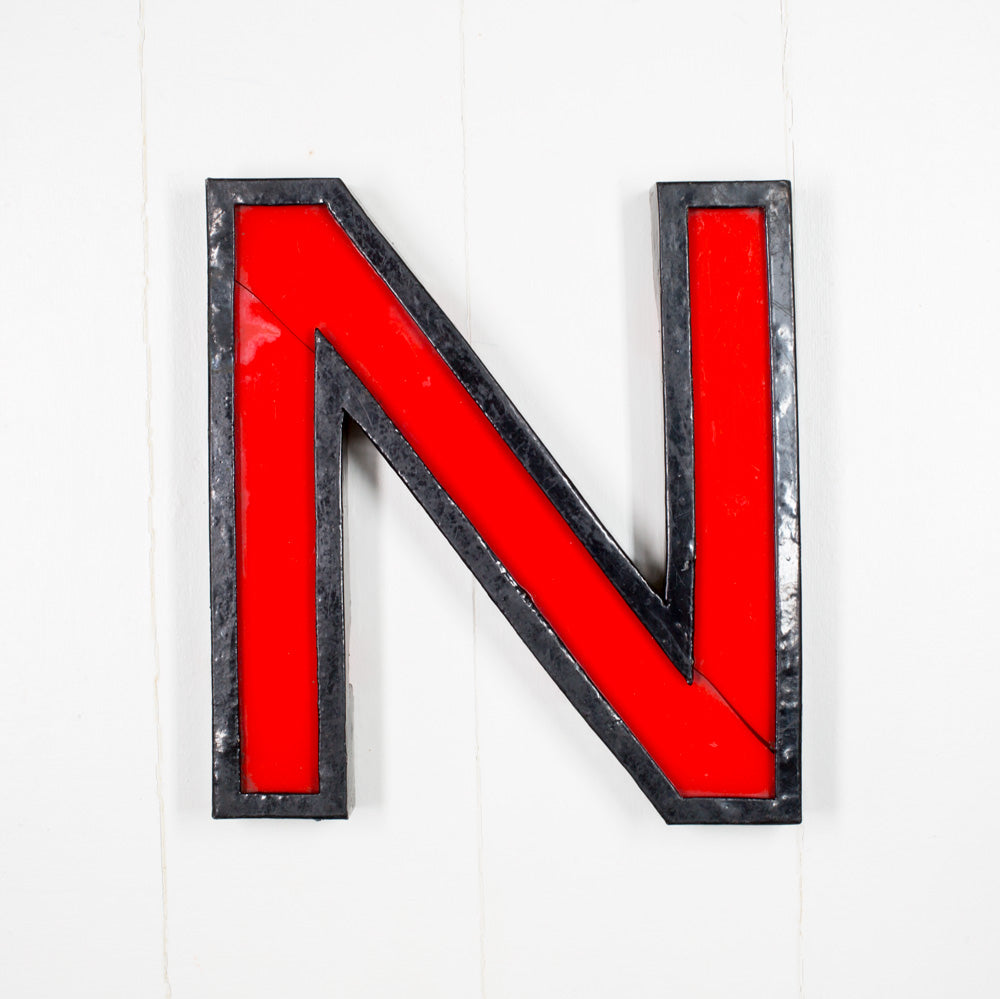 N - Large Cinema Letter