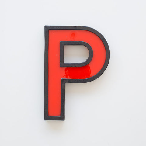 P - Large Cinema Letter
