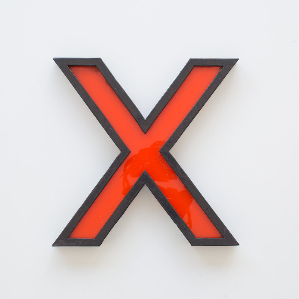 X- Large Cinema Letter