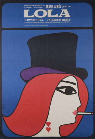 Lola Original Czech 1967 Film Poster