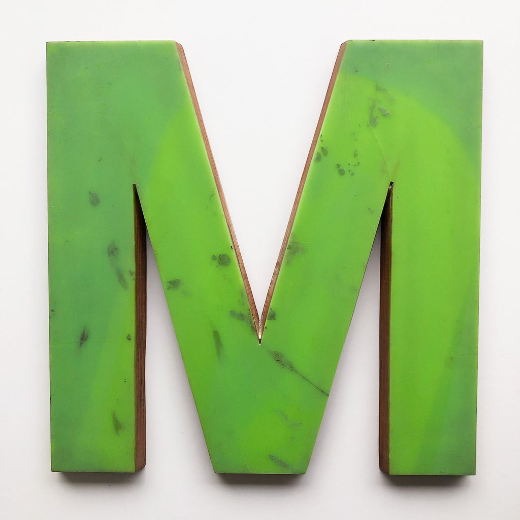 M - Large Letter Ply and Perspex