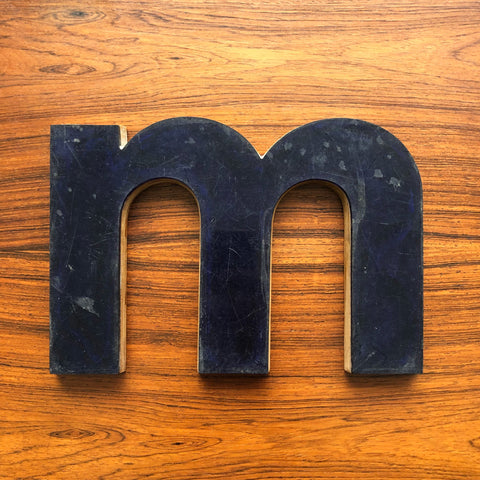 M - Medium Letter Ply and Perspex