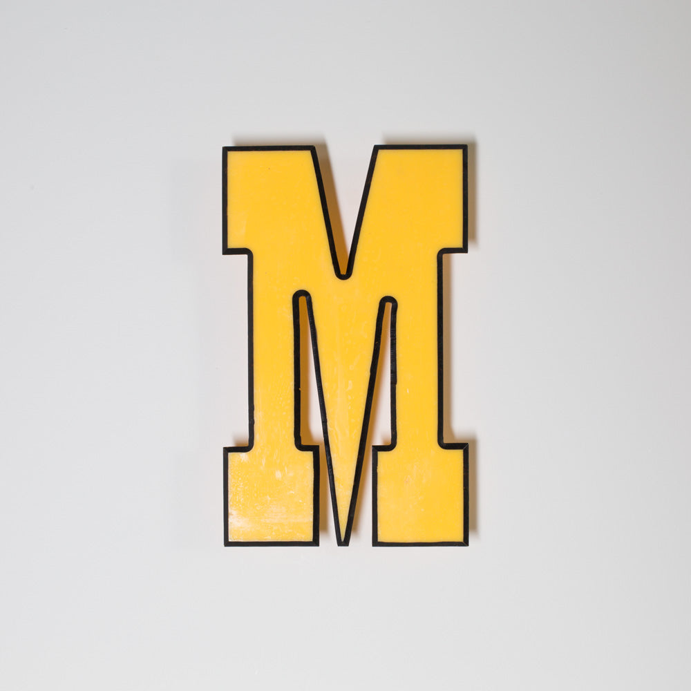 M - Medium Shop Sign Letter