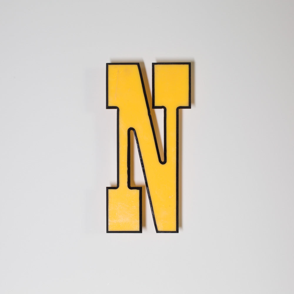 N - Medium Shop Sign Letter