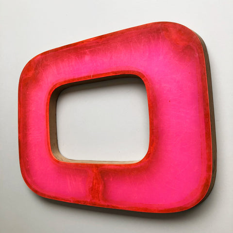 O or  0 - Large Letter Ply and Perspex