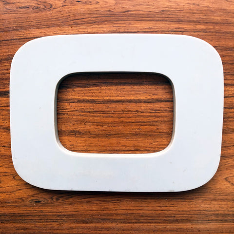 O or 0 - Large Letter Solid Perspex