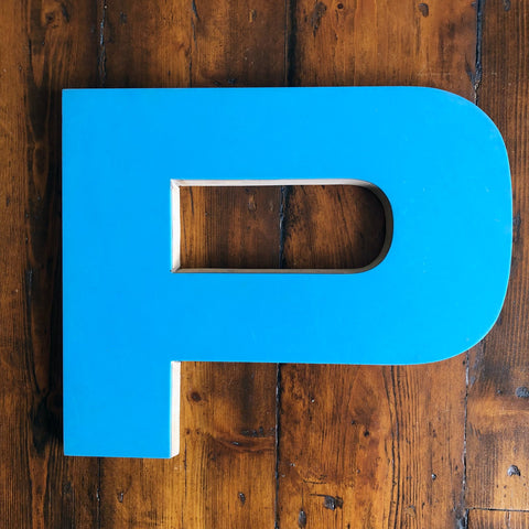 P - Large Letter Ply and Perspex