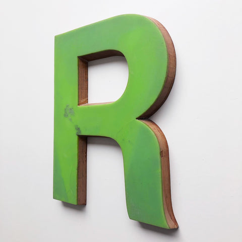 R - Large Letter Ply and Perspex