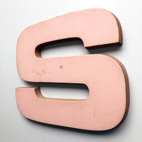 S - Large Letter Ply and Perspex