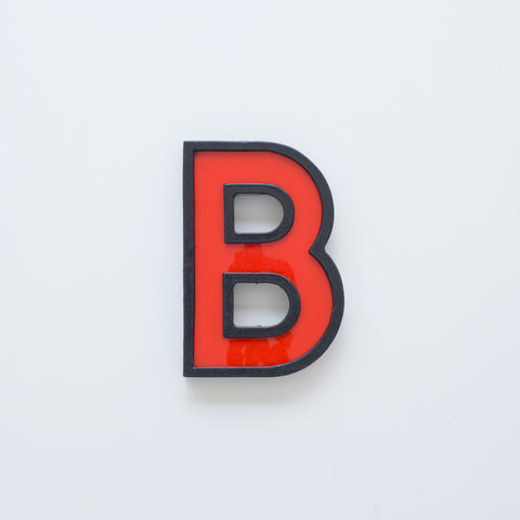 B - Medium Cinema Letter