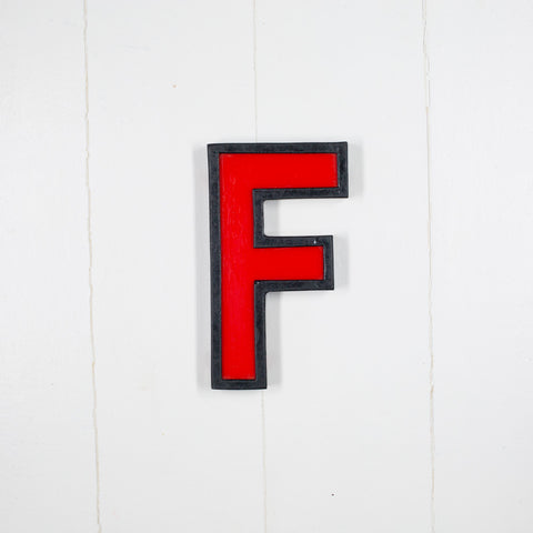 F - Medium Cinema Letter