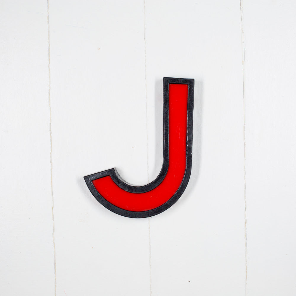 J - Medium Cinema Letter