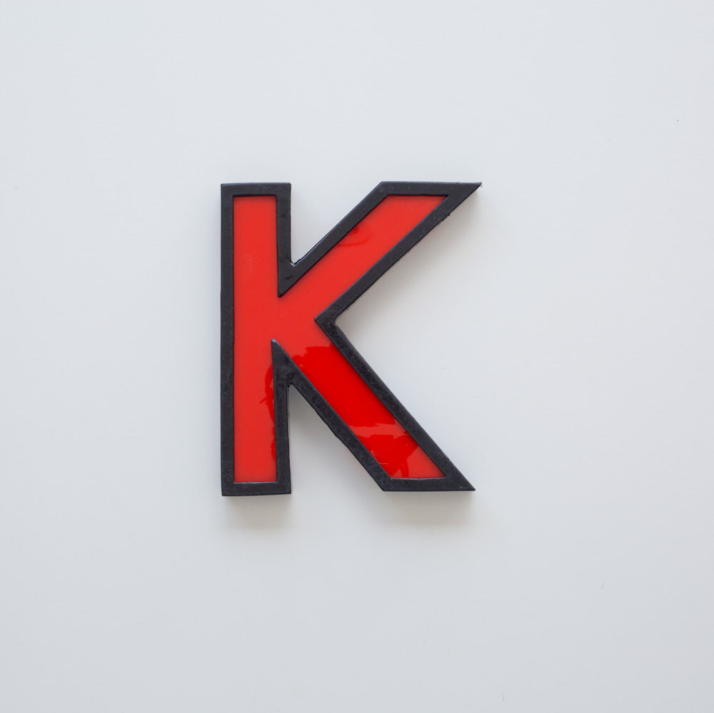 K - Medium Cinema Letter