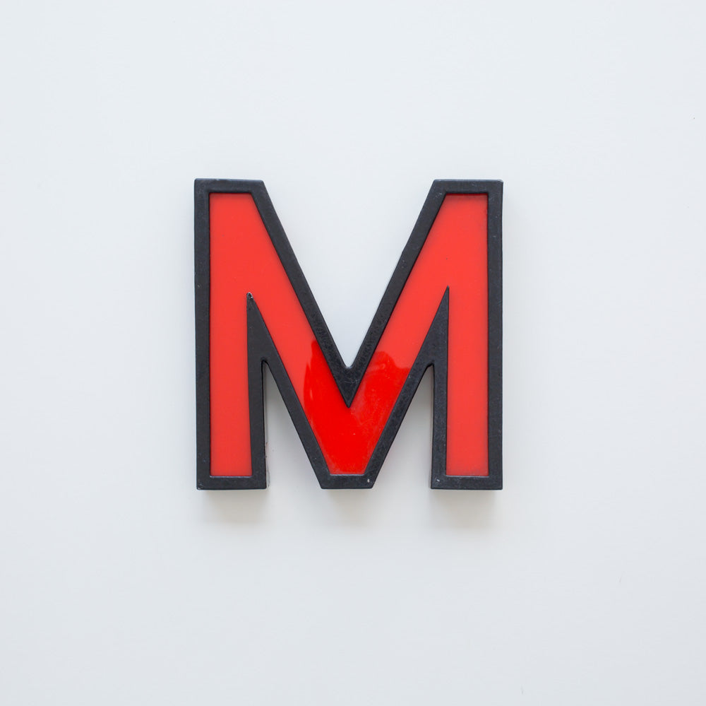 M - Medium Cinema Letter