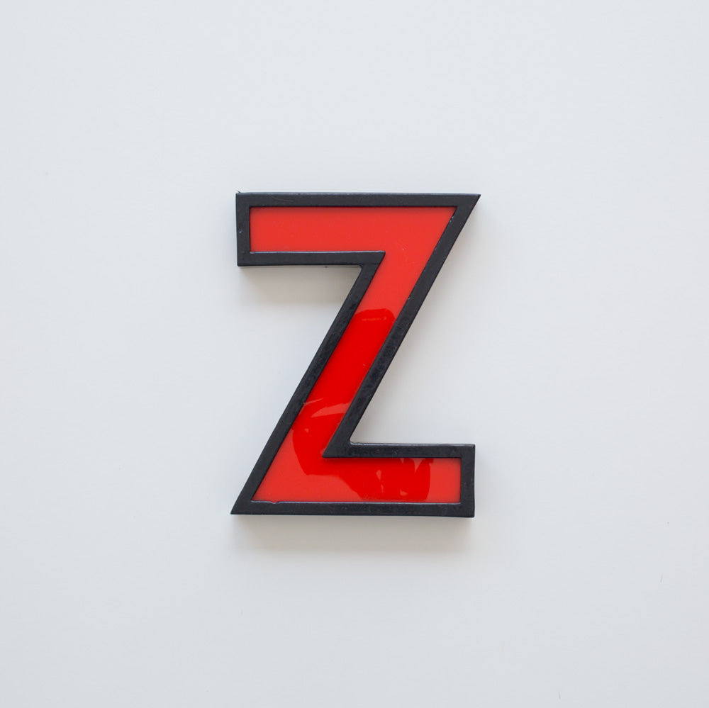 Z - Medium Cinema Letter