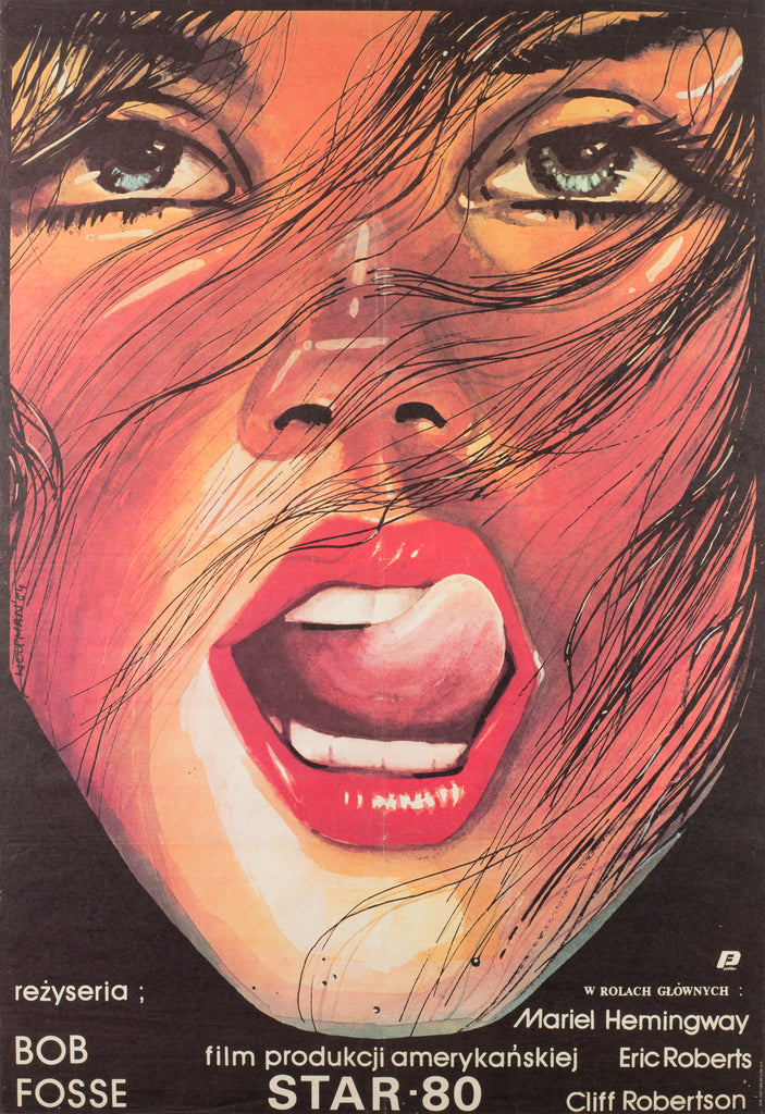Star 80 Polish 1984 Film Poster, Woltman