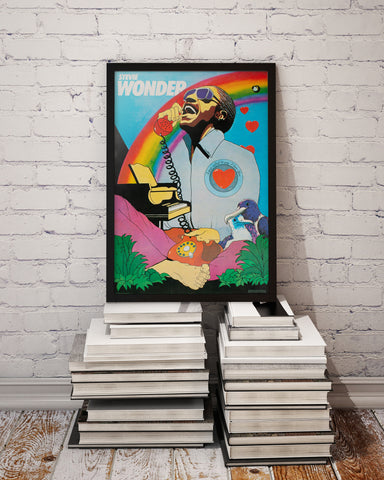 Stevie Wonder I Just Called To Say I Love You 1985 Polish Music Poster, Kalkus