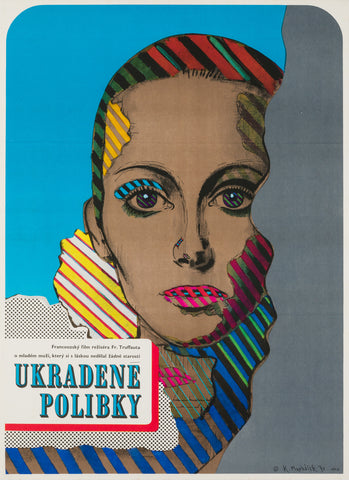 Stolen Kisses 1970 Czech Film Poster