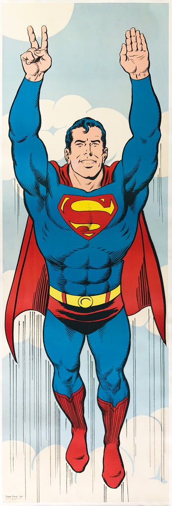 Superman 1971 Peace US Door Panel Poster