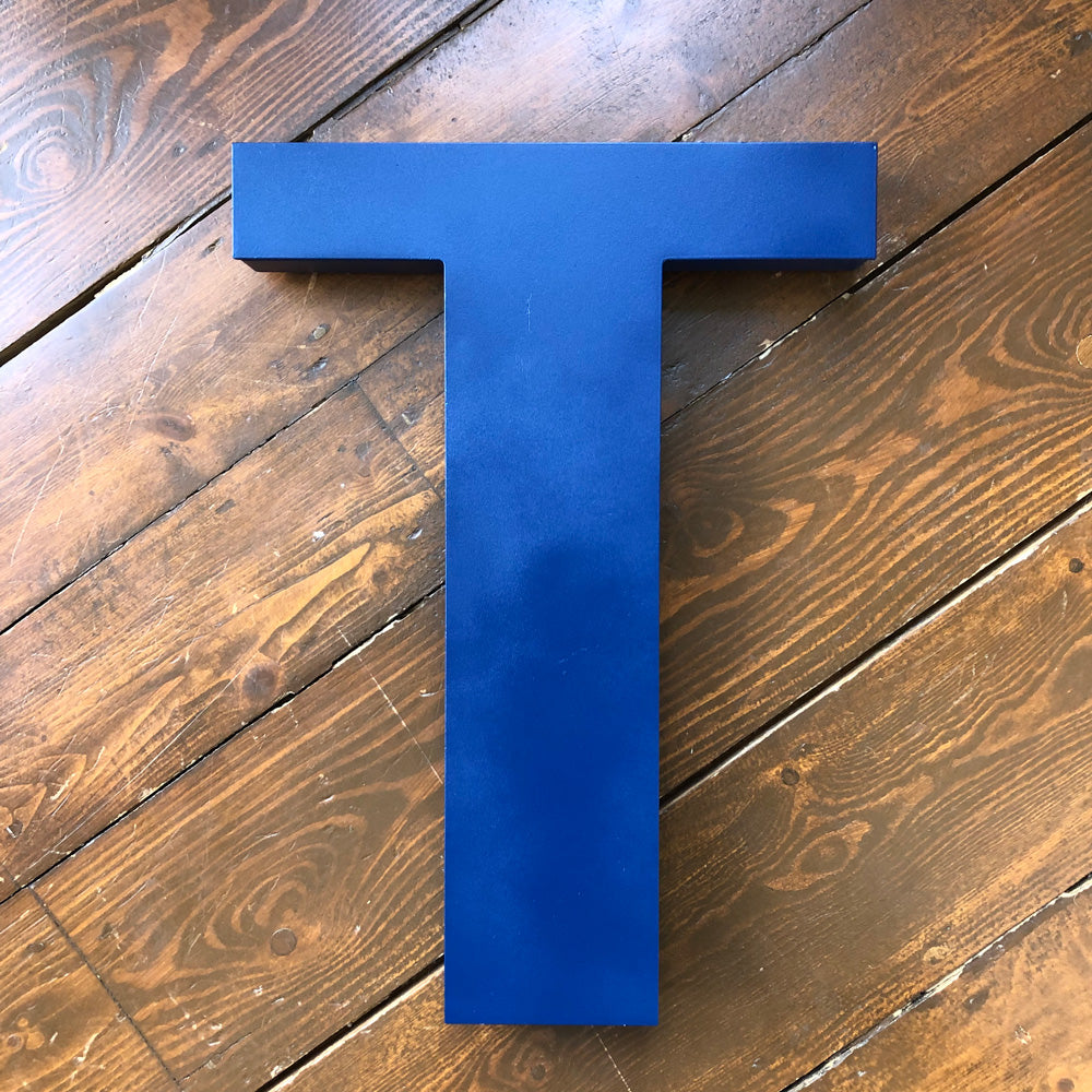 T - Extra Large Shop Sign Letter