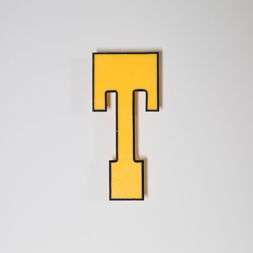 T - Medium Shop Sign Letter