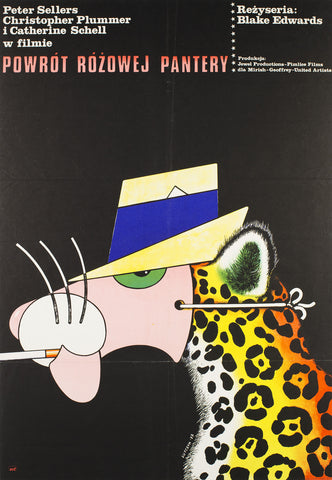 The Return of the Pink Panther 1977 Polish Film Poster