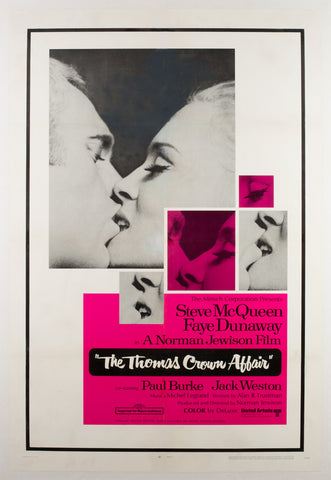 The Thomas Crown Affair 1968 US Film Poster