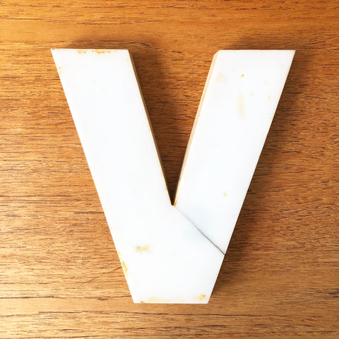 V - Medium Factory Shop Letter