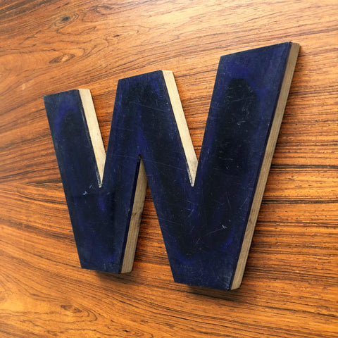 W - Medium Letter Ply and Perspex