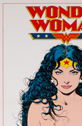 Wonder Woman 1992 DC Comics Promotional Poster, Bolland - detail