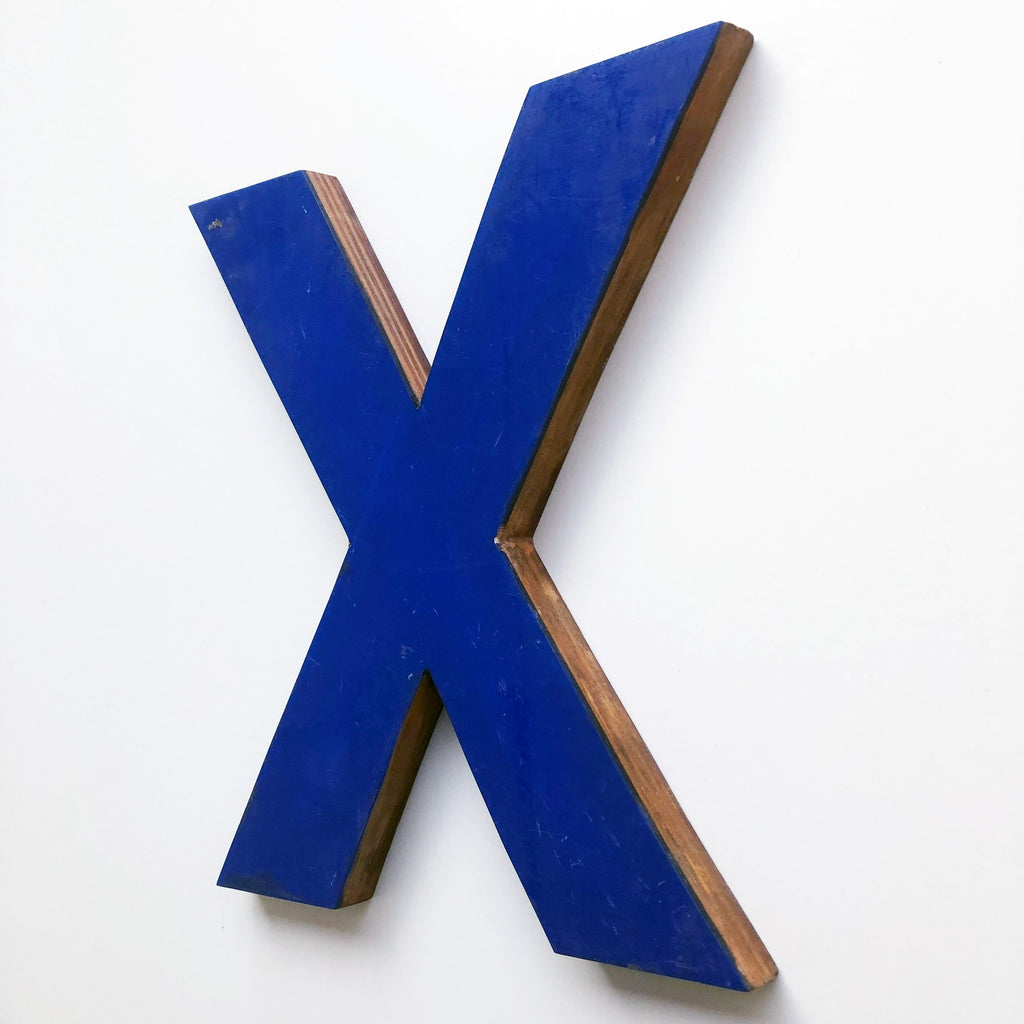 X - Large Letter Ply and Perspex
