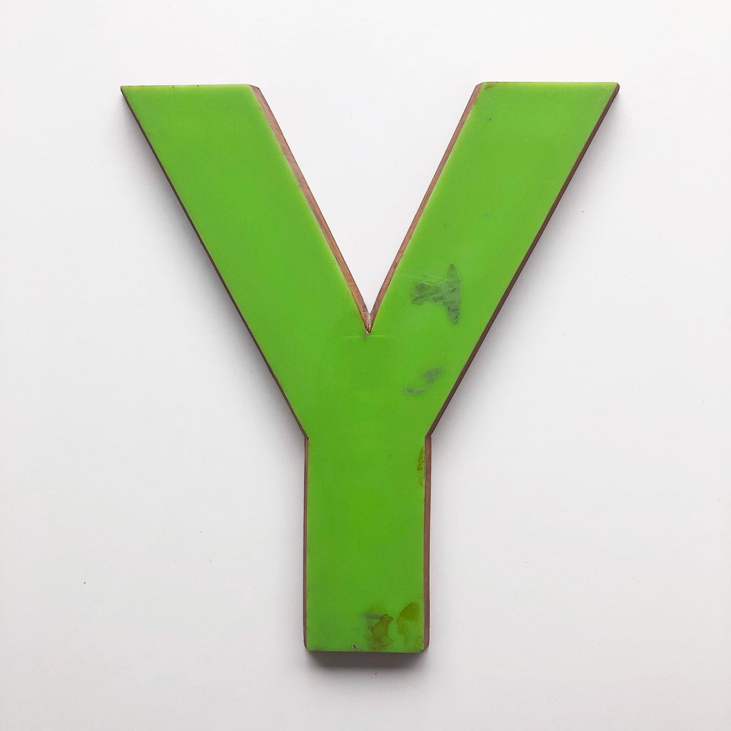 Y - Large Letter Ply and Perspex
